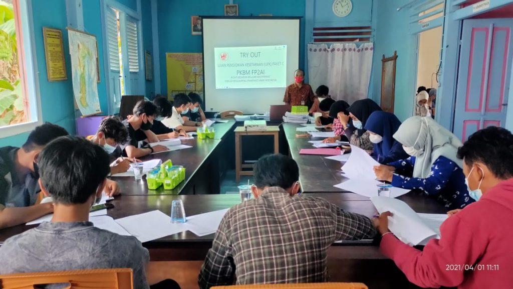 Try Out Ujian Pendidikan Kesetaraan (UPK) Paket C